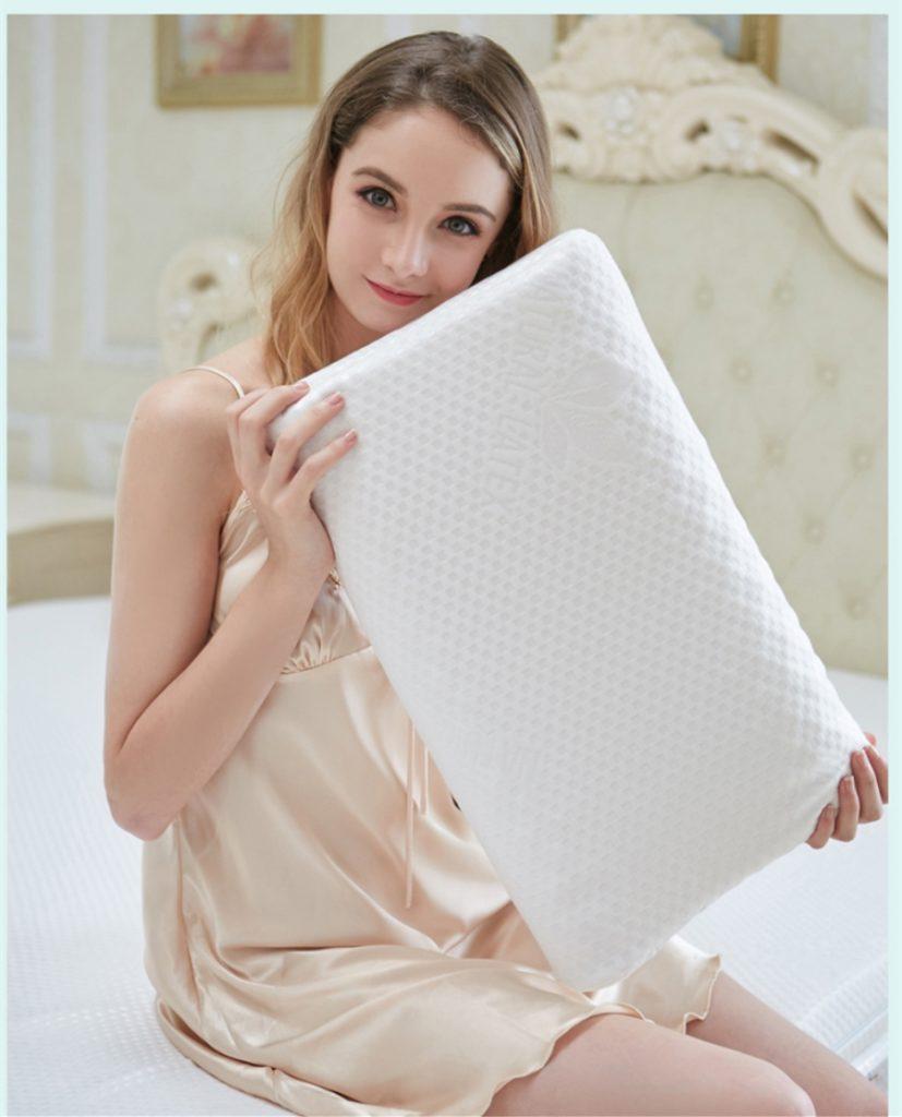 Ergonomic Shape Neck//Shoulder Relax #2 Natural Latex Pillow for Sleeping
